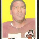 CLEVELAND BROWNS WALTER JOHNSON ROOKIE CARD RC 1969 TOPPS # 165 EX/NM