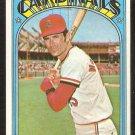 ST LOUIS CARDINALS JERRY McNERTNEY 1972 TOPPS # 584 EX