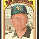 NEW YORK YANKEES HAL LANIER 1972 TOPPS # 589 VG