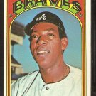 ATLANTA BRAVES PAUL CASANOVA 1972 TOPPS # 591 EX