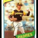 SAN DIEGO PADRES BOB OWCHINKO 1980 TOPPS # 79 EX/NM