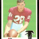ATLANTA FALCONS RAY OGDEN 1969 TOPPS # 206 VG