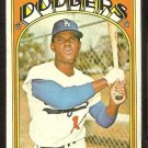 LOS ANGELES DODGERS MANNY MOTA 1972 TOPPS # 596 VG/EX