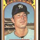 NEW YORK YANKEES JIM MAGNUSON 1972 TOPPS # 597 VG/EX