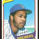 MILWAUKEE BREWERS CECIL COOPER 1980 TOPPS # 95 NM