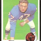 BUFFALO BILLS STEW BARBER 1969 TOPPS # 242 EX+