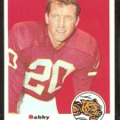 CINCINNATI BENGALS BOBBY HUNT 1969 TOPPS # 243 EX/EM