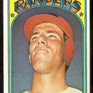 TEXAS RANGERS TOM GRIEVE 1972 TOPPS # 609 VG/EX