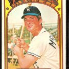 NEW YORK YANKEES RICH McKINNEY 1972 TOPPS # 619 VG