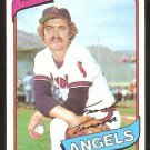 CALIFORNIA ANGELS FRANK TANANA 1980 TOPPS # 105 NM/MT