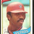 HOUSTON ASTROS JEFF LEONARD ROOKIE CARD RC 1980 TOPPS # 106 NR MT