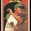OAKLAND ATHLETICS MIKE HEGAN 1972 TOPPS # 632 VG