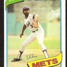 NEW YORK METS DOCK ELLIS 1980 TOPPS # 117 NR MT