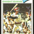 BOSTON RED SOX DWIGHT EVANS 1977 TOPPS # 25 VG/EX