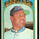 MILWAUKEE BREWERS MARCELINO LOPEZ 1972 TOPPS # 652 VG/EX