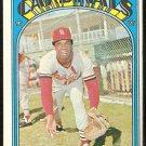 ST LOUIS CARDINALS DON CLENDENON 1972 TOPPS # 671 EX+/EM OC