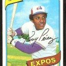 MONTREAL EXPOS TONY PEREZ 1980 TOPPS # 125 EX MT