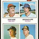 ROOKIE PITCHERS RED SOX YANKEES ROYALS PADRES 1977 TOPPS # 472 VG+