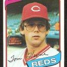 CINCINNATI REDS TOM HUME 1980 TOPPS # 149 NR MT