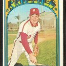 PHILADELPHIA PHILLIES DICK SELMA 1972 TOPPS # 726 EM