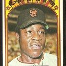 SAN FRANCISCO GIANTS JIM HART 1972 TOPPS # 733 EX+