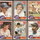 BOSTON RED SOX 1981 TOPPS COCA COLA COKE TEAM SET YASTRZEMSKI PEREZ RICE ECKERSLEY +