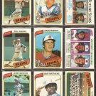 1980 TOPPS ATLANTA BRAVES TEAM LOT 24 DIFF DALE MURPHY NIEKRO BOB HORNER TEAM CARD +