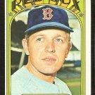 BOSTON RED SOX BOB BURDA 1972 TOPPS # 734 VG+/EX