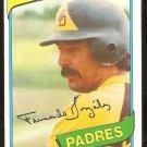 SAN DIEGO PADRES FERNANDO GONZALEZ 1980 TOPPS # 171 EM/NM