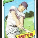 NEW YORK METS RON HODGES 1980 TOPPS # 172 NR MT