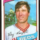 CINCINNATI REDS RAY KNIGHT 1980 TOPPS # 174 NR MT