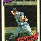 CHICAGO CUBS RICK REUSCHEL 1980 TOPPS # 175 NR MT