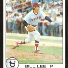 BOSTON RED SOX BILL LEE 1979 TOPPS # 455 EX