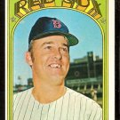 BOSTON RED SOX DANNY CATER 1972 TOPPS # 676