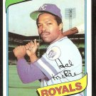 KANSAS CITY ROYALS HAL McRAE 1980 TOPPS # 185  NR MT