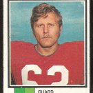NEW ENGLAND PATRIOTS HALVOR HAGEN ROOKIE CARD RC 1973 TOPPS # 58 G/VG