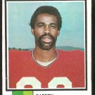 NEW ENGLAND PATRIOTS CLARENCE SCOTT ROOKIE CARD RC 1973 TOPPS # 221 VG+