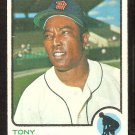DETROIT TIGERS TONY TAYLOR 1973 TOPPS # 29 EX