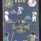CHARLESTON RIVERDOGS 2012 POCKET SCHEDULE NEW YORK YANKEES PHIL HUGHES JOSH HAMILTON BJ UPTON