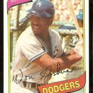 LOS ANGELES DODGERS VON JOSHUA 1980 TOPPS # 209 NM/MT