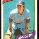 TEXAS RANGERS MIKE JORGENSEN 1980 TOPPS # 213 NR MT