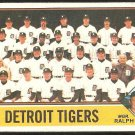 DETROIT TIGERS TEAM CARD 1976 TOPPS # 361 UNMARKED CHECKLIST VG+