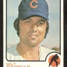 CHICAGO CUBS MILT PAPPAS 1973 TOPPS # 70 VG