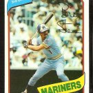 SEATTLE MARINERS BILL STEIN 1980 TOPPS # 226 NR MT