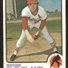 ST LOUIS CARDINALS REGGIE CLEVELAND 1973 TOPPS # 104 good