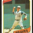 ATLANTA BRAVES PHIL NIEKRO 1980 TOPPS # 245 NR MT
