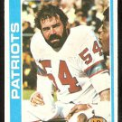 New England Patriots Steve Zabel 1978 Topps Football Card # 181 ex