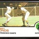 San Francisco Giants Bobby Bonds 1973 Topps Baseball Card # 145 nr mt oc