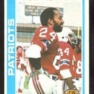 New England Patriots Bob Howard 1978 Topps Football Card # 321 ex