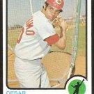 Cincinnati Reds Cesar Geronimo 1973 Topps Baseball Card # 156